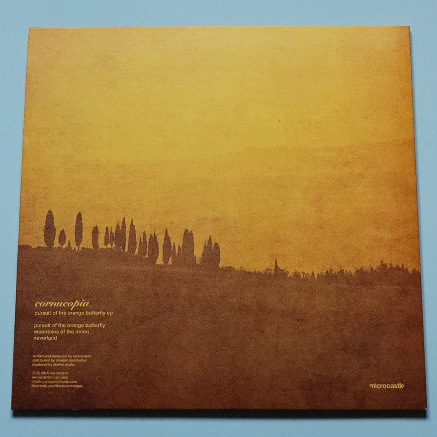 "Image of Cornucopia 'Pursuit Of The Orange Butterfly' EP 12"" Vinyl"