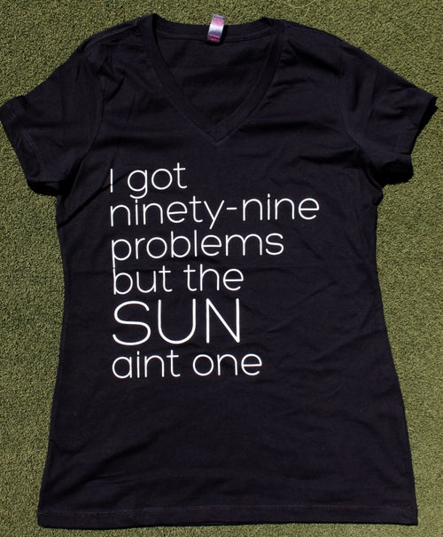 Image of Womens 99 Problems Black