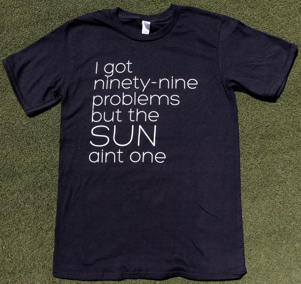 Image of Mens 99 Problems Black