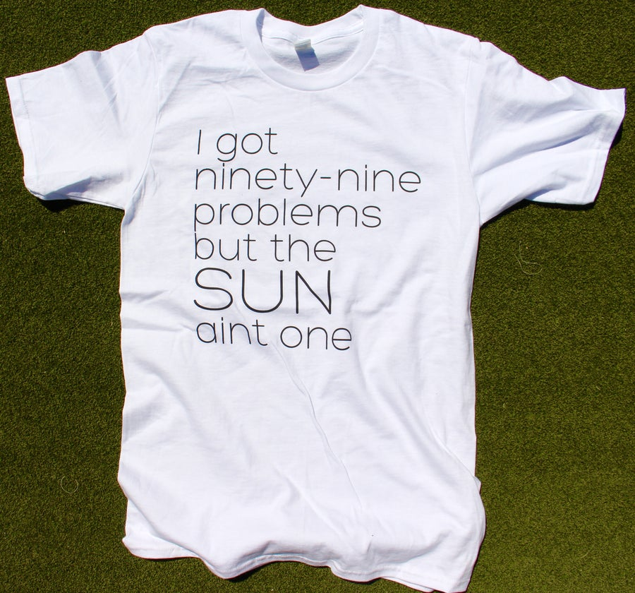 Image of Mens 99 Problems White