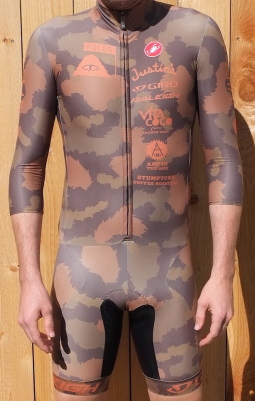 Image of Poler Autumn Furry Camo Skinsuit