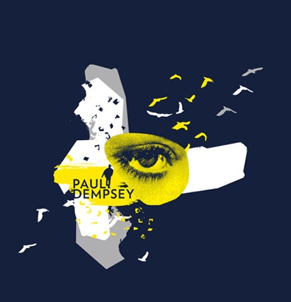 Image of Paul Dempsey 'Strange Loop' Tour T-Shirt -Navy