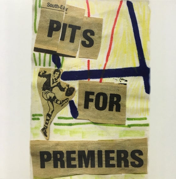 Image of LCMR-007 THE PITS - PITS FOR PREMIERS LP
