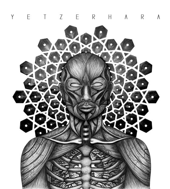 Image of YETZER HARA - LIMITED EDITION FRAMED QUAD VINYL (1 of 20) (PRE ORDER)