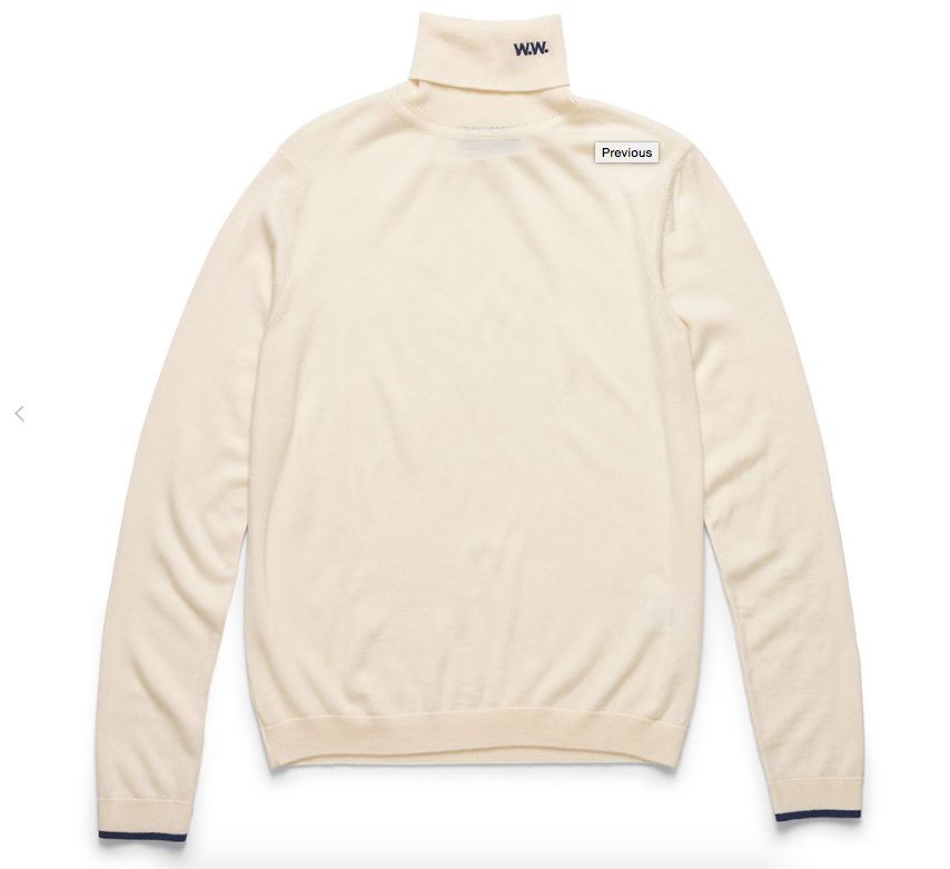 Image of Hampton – Regular Fit Turtle Neck Sweater
