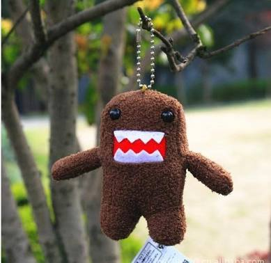 Image of Plush Domo Keyring