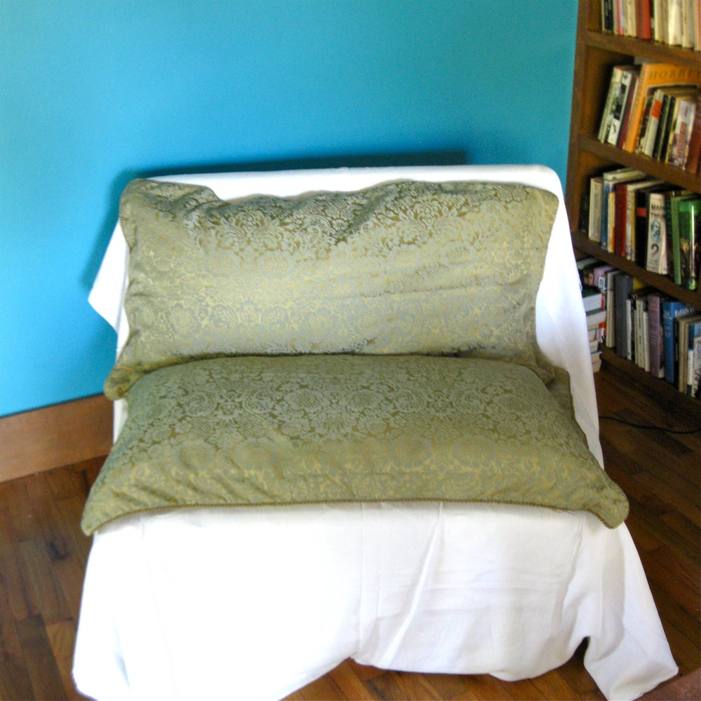 Image of Damask Pillow Shams