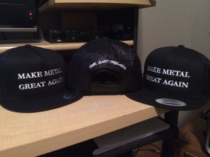 Image of Our Last Crusade - Make Metal Great Again Snapback