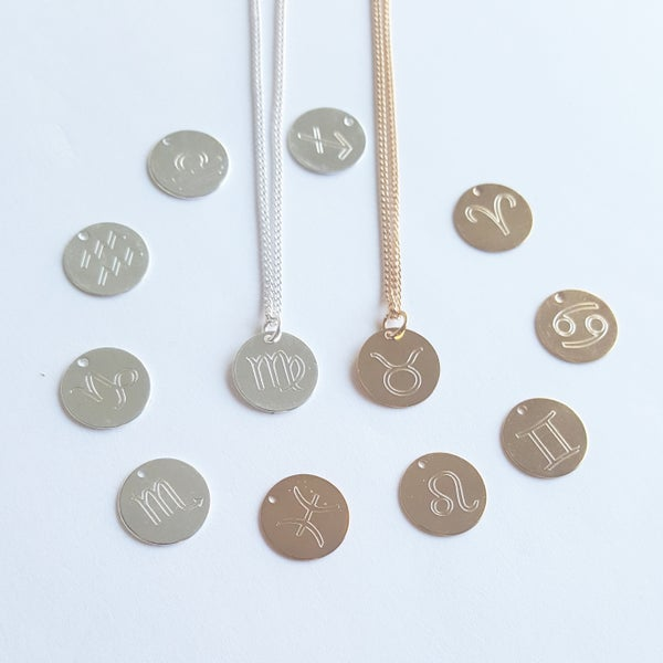 Image of zodiac Symbol Necklaces