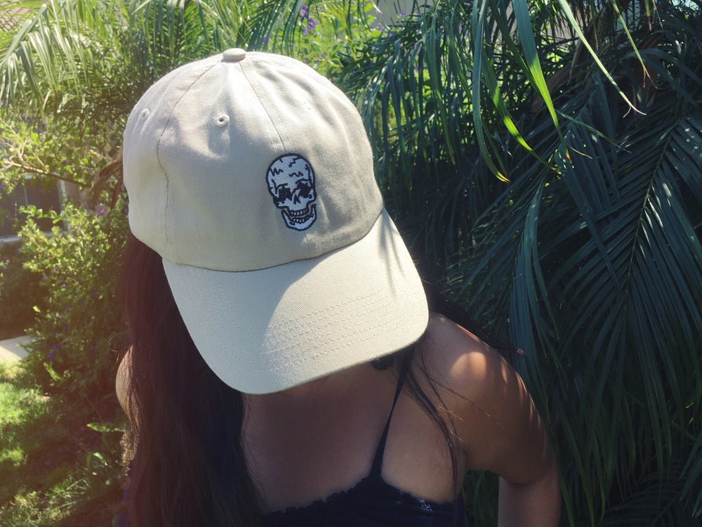 Image of Skull Dad Hat