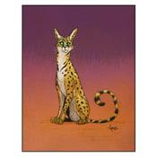 "Image of ""Serval"" Print"