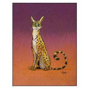 "Image of ""Serval"" Print"
