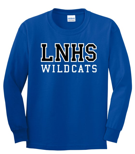 Image of LNHS Official Long Sleeve Classic Tee - 2 color options