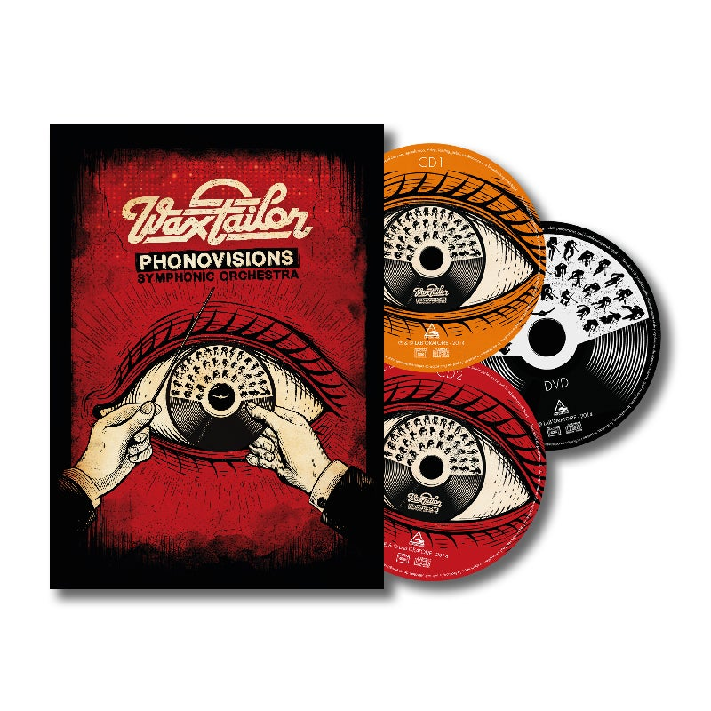 Image of Phonovisions Symphonic Orchestra 2xCD+DVD DIGIBOOK