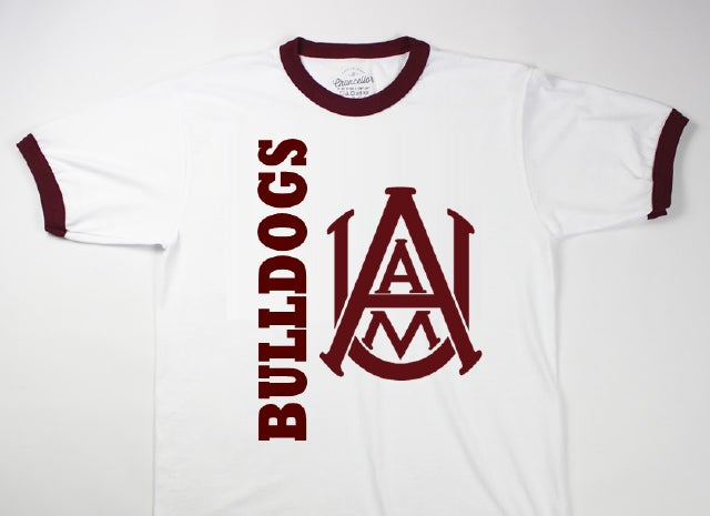Image of AAMU Bulldogs - Ringer Tee