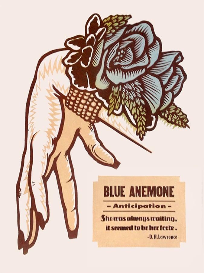 Image of Blue Anemone