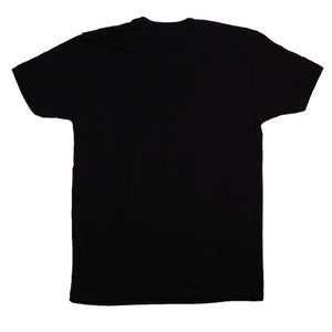 Image of Triple Rocket Embroidered Tee (Black)