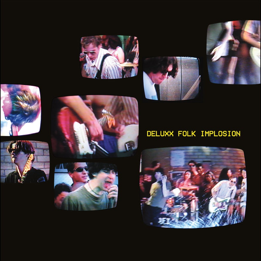 Image of Deluxx Folk Implosion 12 Inch Vinyl