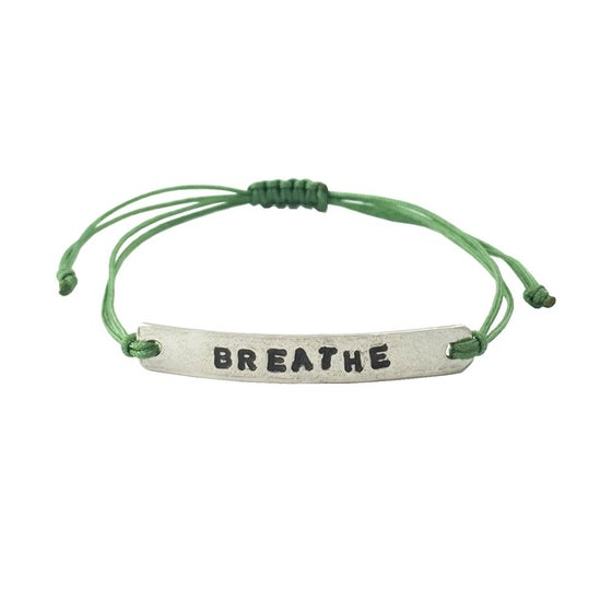 Image of Stamped Bracelet Breathe