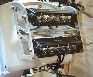 "Image of (See Steady Garage)   Honda Ruckus / Chuckus Headlight Bracket ""Version 2"""