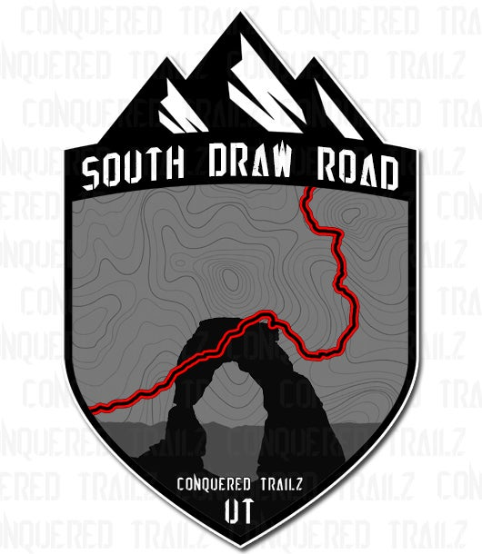 "Image of ""South Draw Road"" Trail Badge"