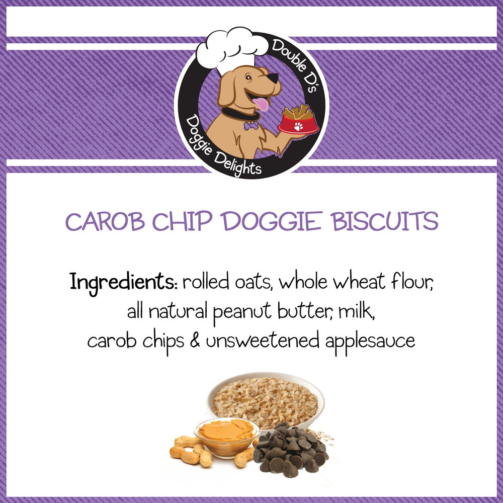 Image of Carob Chip Doggie Biscuits