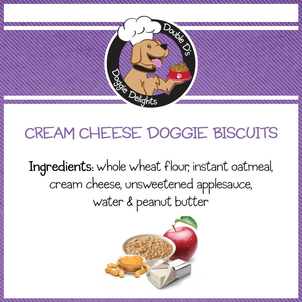 Image of Cream Cheese Doggie Biscuits