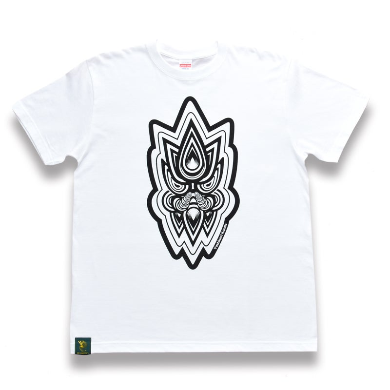 Image of Designed by Yoshinori Kondo T-shirt #1 (White)