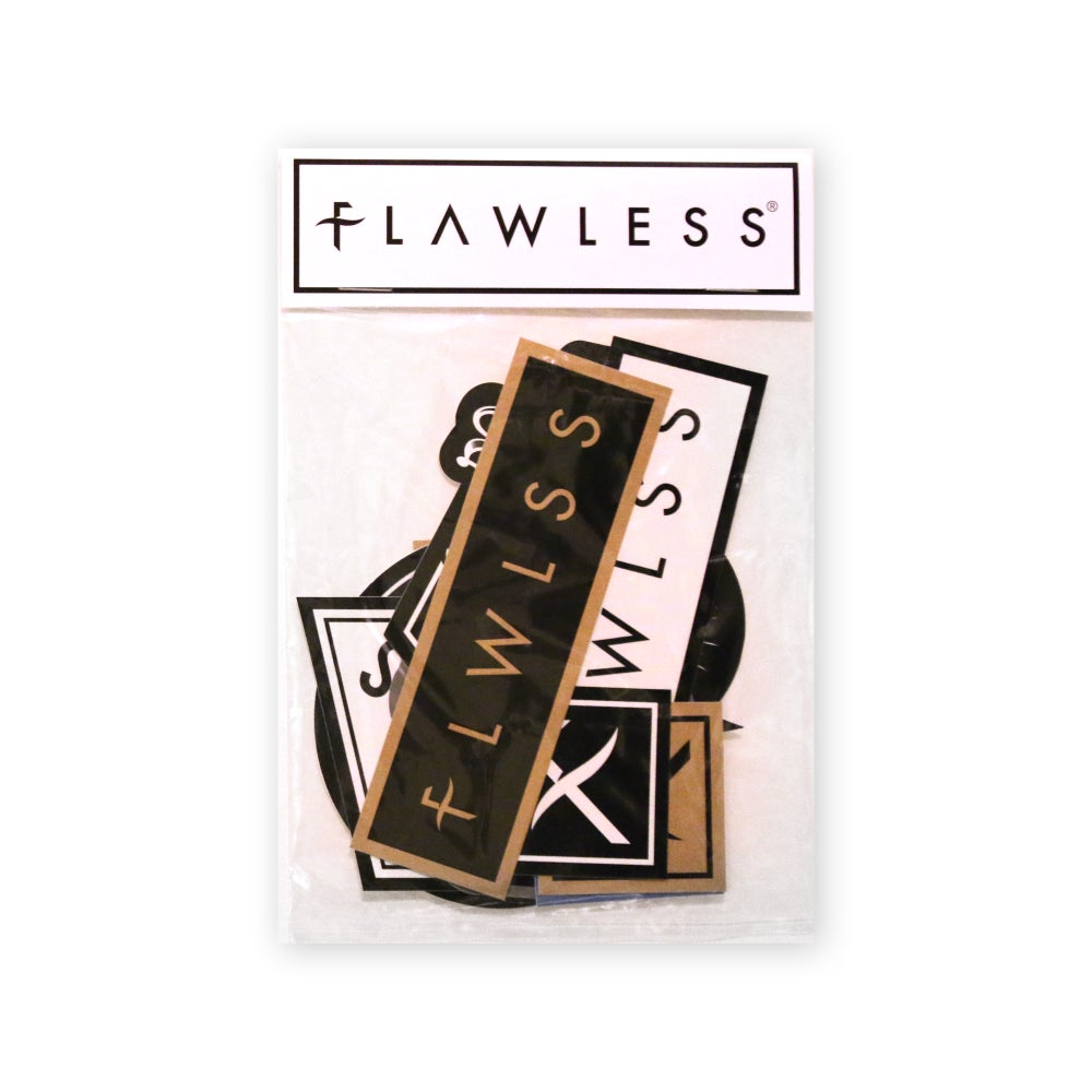 """Image of FLAWLESS """"12 PACK"""" OF STICKERS"""