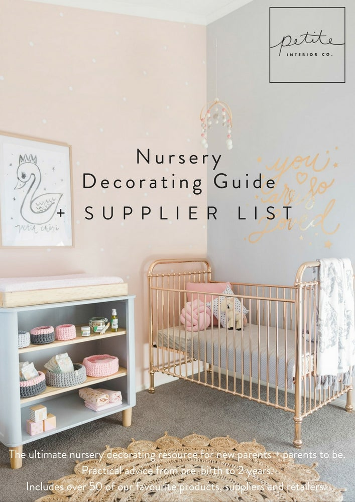 Image of Nursery Decorating Guide