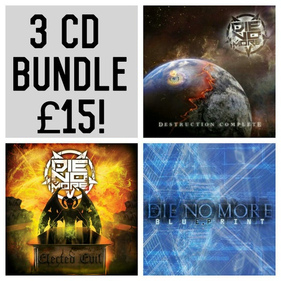 Image of Die No More 3xCD Bundle offer