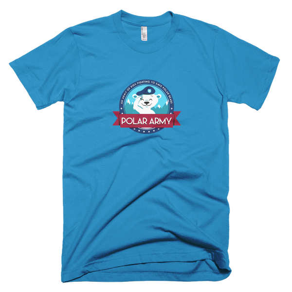 Image of Adults Polar Army T-Shirt (Teal)