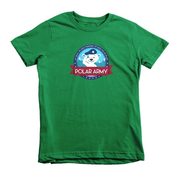 Image of Kids Polar Army T-Shirt (Kelly Green)