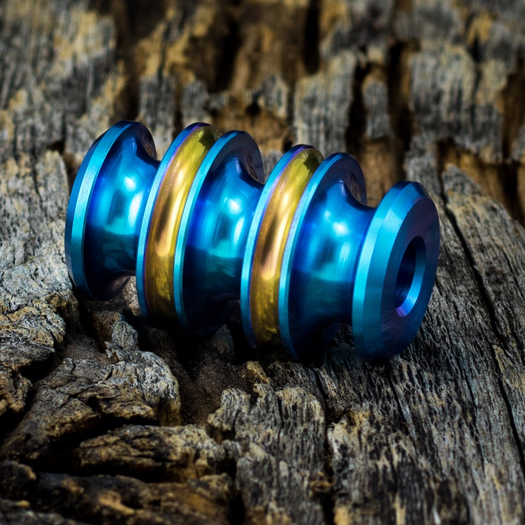 Image of Kraken Teal and Copper bead #1