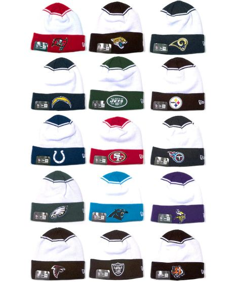 Image of New Era NFL Team Cuffed Beanies