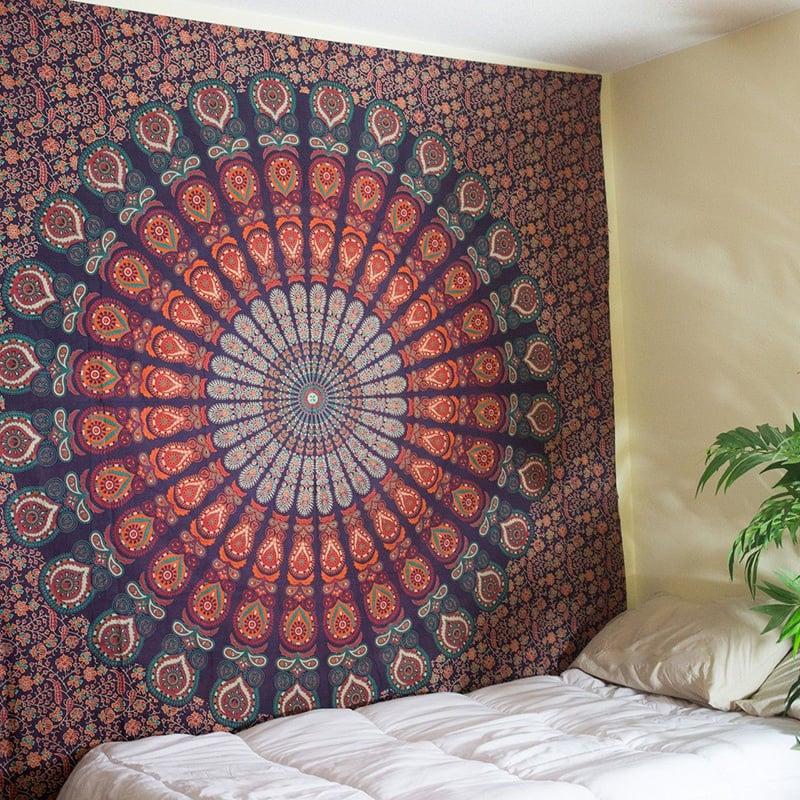 Image of Amber Mandala Tapestry