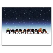 "Image of ""Penguins' Greetings"" Print"