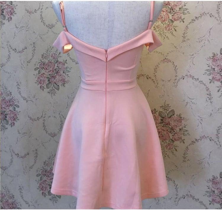 Lovely Short Off Shoulder Sweetheart Women Dresses, Cute Short Women Dresses