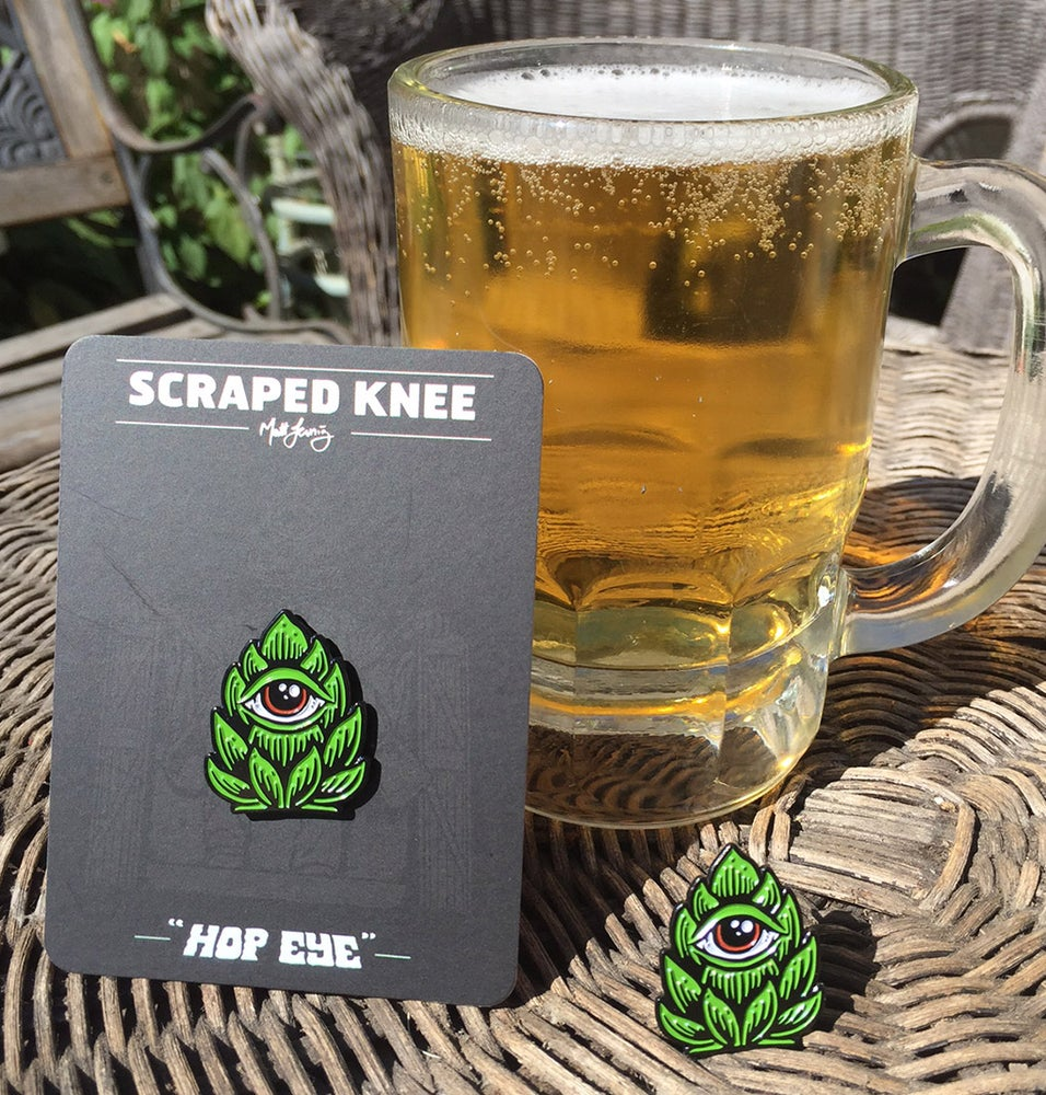 "Image of ""Hop Eye"" enamel pin"