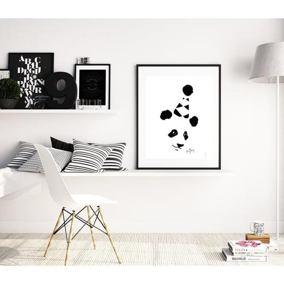 """Image of Póster """" Enjoy panda """""""