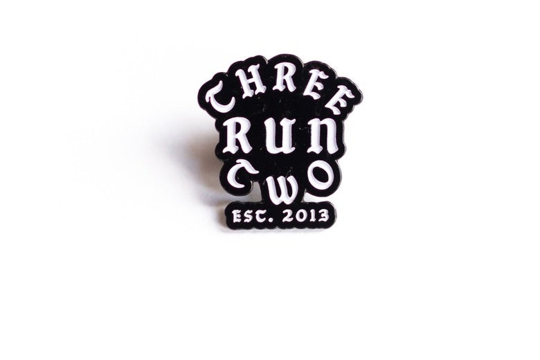 Image of Three Run Two, Lapel Pin