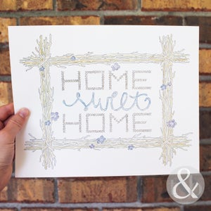 "Image of ""Home Sweet Home"" - Print"