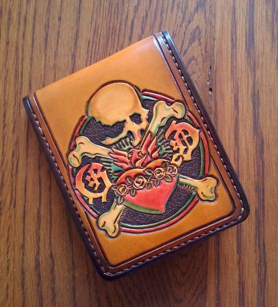 Image of Grateful Dead Reckoning Leather Wallet