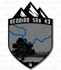 "Image of ""Redbird SRA #3""  Trail Badge"