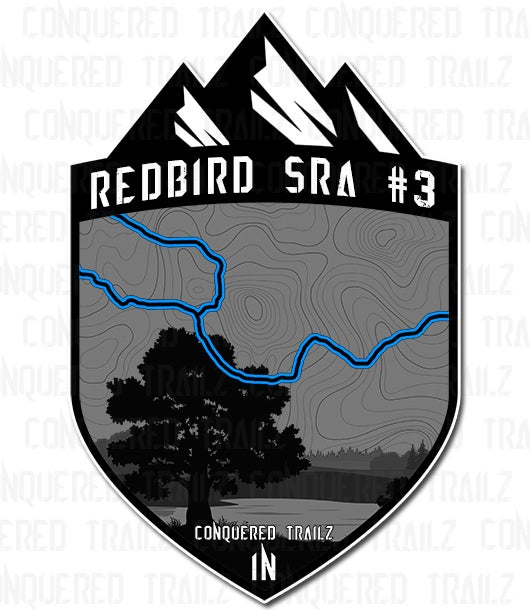 "Image of ""Redbird SRA #3""  Trail Badge"