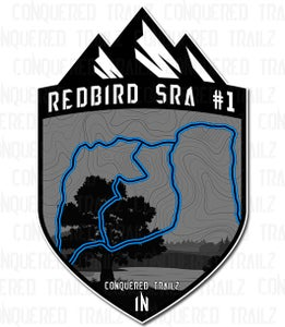"Image of ""Redbird SRA #1"" Trail Badge"