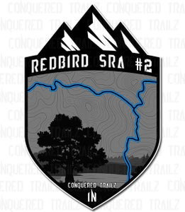"Image of ""Redbird SRA #2"" Trail Badge"