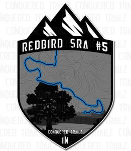 "Image of ""Redbird SRA #5"" Trail Badge"