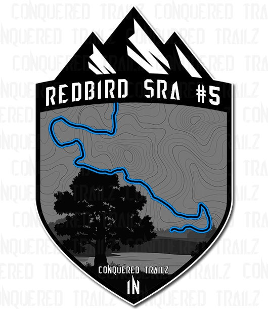"Image of ""Redbird SRA #5"" Trail Badge"