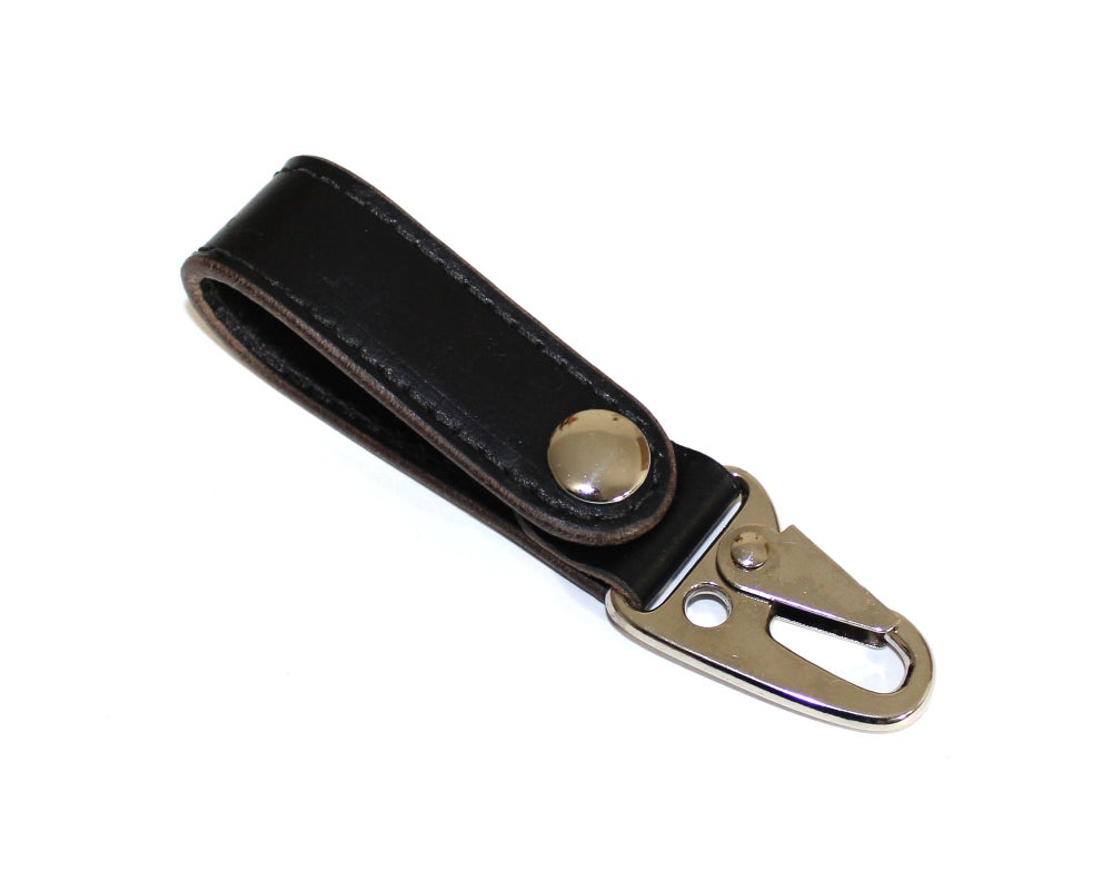 Image of Built Lanyard - Black Latigo